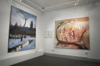 Images on display at the Graduate Generate Exhibition for Scenic Art at the RWA