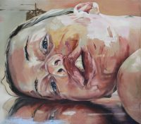 Scenic copy of Jenny Saville's 'Reflect'.