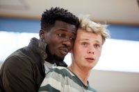 Actors in rehearsals