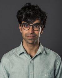Headshot of male acting student