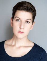 Headshot of female international MFA acting student