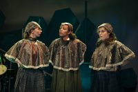 The Crows in the Snow Queen (2019) - Chanel Waddock, Kiera Lester and Alice Moore
