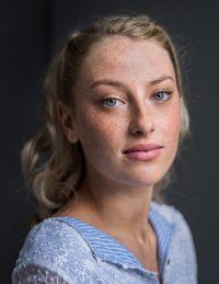 Acting student Sarah McCormack