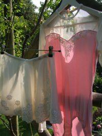 Silk clothing items