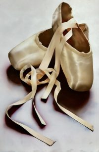Large picture of ballet slippers