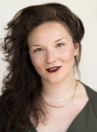 Headshot of female international MFA acting student