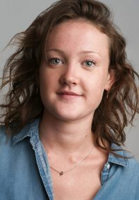 Headshot of female acting student