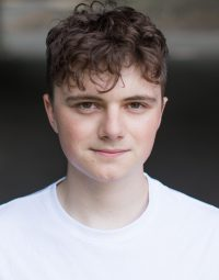 Headshot of male acting student