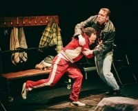 Two actors fighting