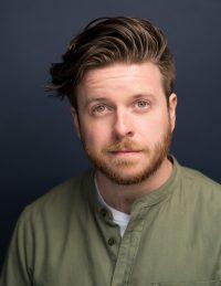 Headshot of male International MFA Acting Student